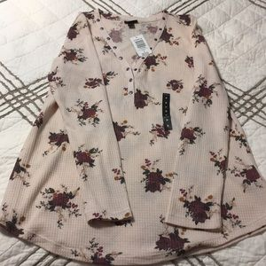 Torrid Floral 💐 long sleeve Top